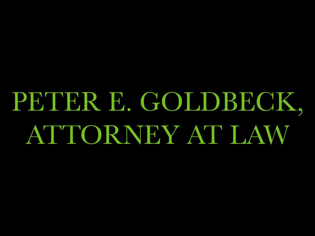 peter goldbeck