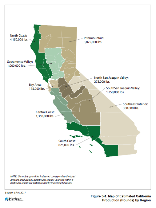 California Releases Environmental Impact Report on Cannabis