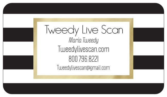 Tweedy Mobile Live Scan