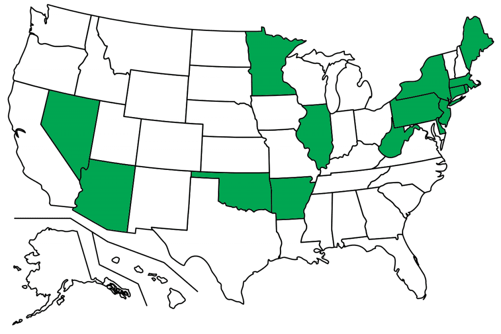 State Laws Protecting Medical Marijuana Patients' Employment
